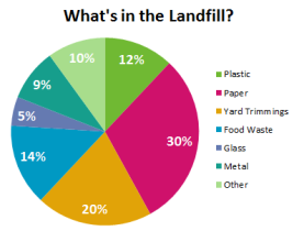 whats in the landfill